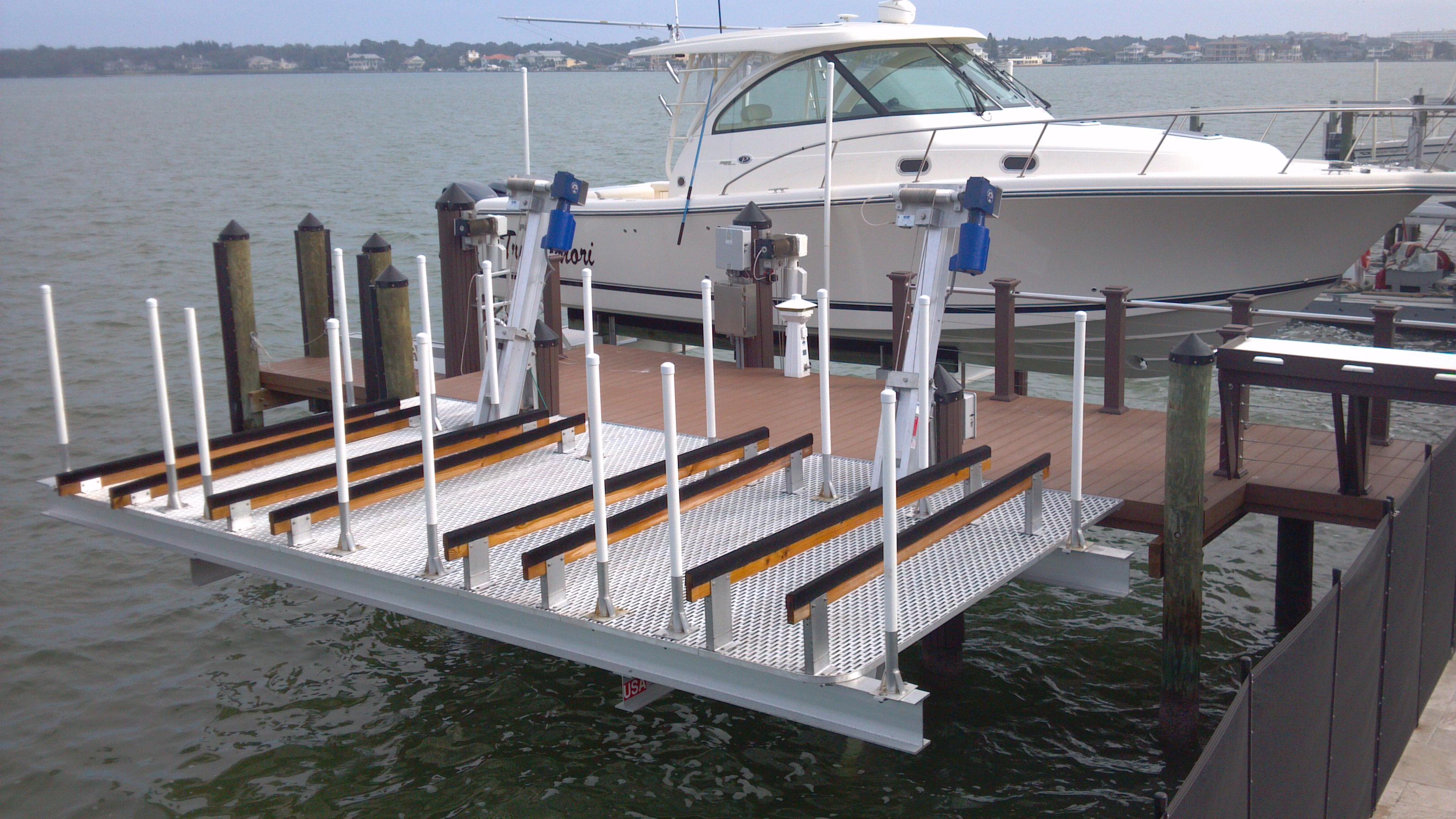 Aluminum Boat Lifts Hi Tide