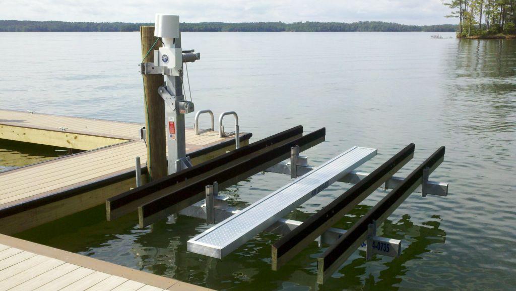 Personal Watercraft Lifts - Hi-Tide